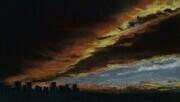 City Skyline Under a Prairie Sky